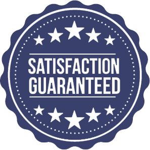 100% Satisfaction Guranteed